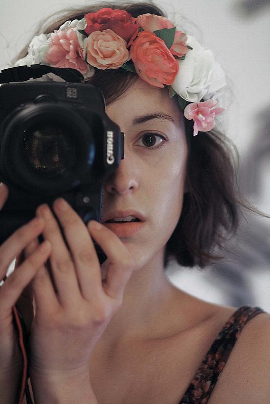 Autoportrait aux Fleurs